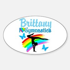 LOVELY GYMNAST Decal