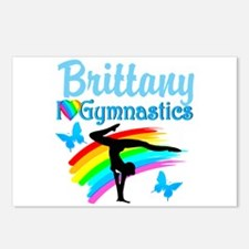 LOVELY GYMNAST Postcards (Package of 8)