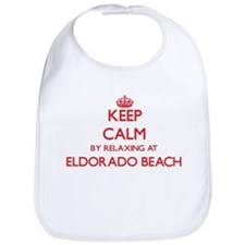 Keep calm by relaxing at Eldorado Beach New Yo Bib