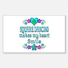 Square Dancing Smiles Decal