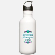 Square Dancing Smiles Water Bottle