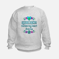Square Dancing Smiles Sweatshirt