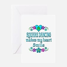 Square Dancing Smiles Greeting Card