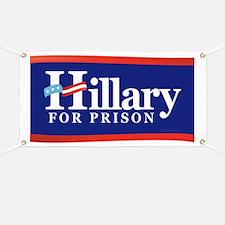 Hillary For Prison Banner