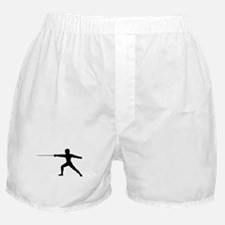 Guy Fencer Boxer Shorts