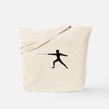 Guy Fencer Tote Bag
