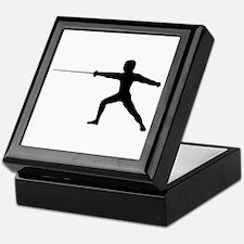 Guy Fencer Keepsake Box