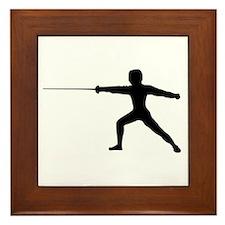 Guy Fencer Framed Tile