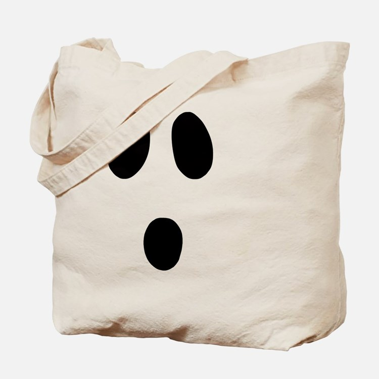 Cute Ghost face Tote Bag