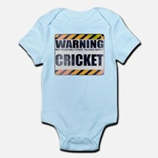 Warning: Cricket Onesie