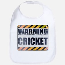 Warning: Cricket Bib