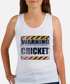 Warning: Cricket Women's Tank Top