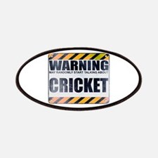 Warning: Cricket Patches