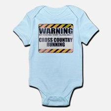 Warning: Cross Country Running Infant Bodysuit
