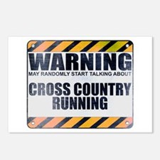 Warning: Cross Country Running Postcards (Package
