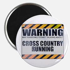 Warning: Cross Country Running Magnet