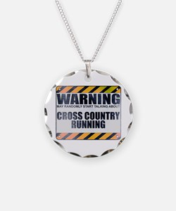 Warning: Cross Country Running Necklace