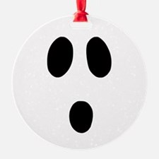 Boo Face Ornament