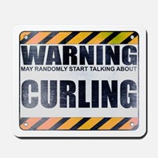 Warning: Curling Mousepad