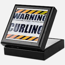 Warning: Curling Keepsake Box