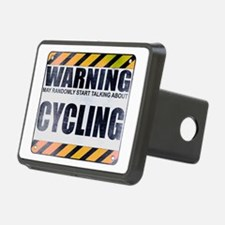 Warning: Cycling Hitch Cover