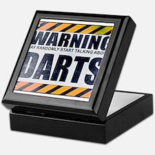 Warning: Darts Keepsake Box
