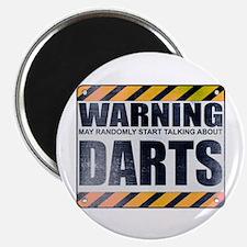 Warning: Darts Magnet
