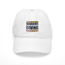 Warning: Diving Baseball Cap