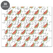 Watermelon Seeds Pattern Puzzle