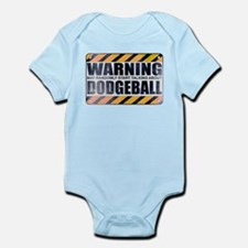 Warning: Dodgeball Infant Bodysuit