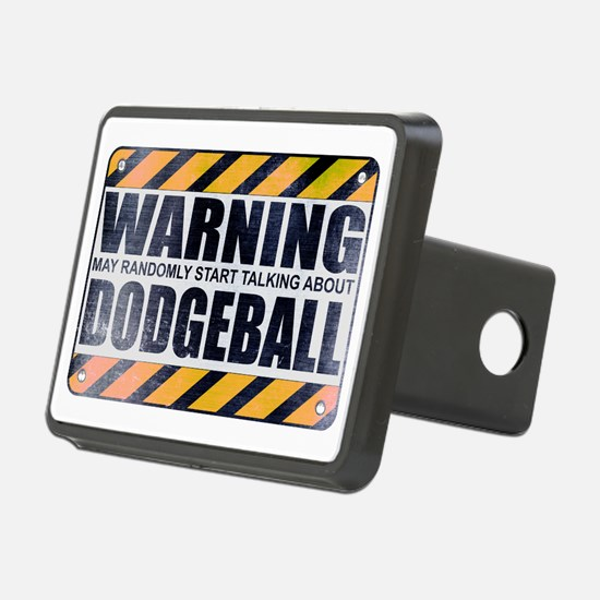 Warning: Dodgeball Hitch Cover