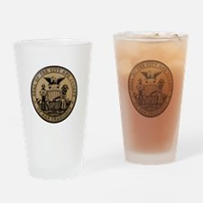 San Francisco City Seal Drinking Glass