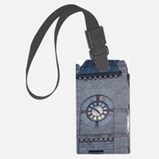 Clock Tower Luggage Tag