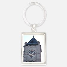 Clock Tower Portrait Keychain