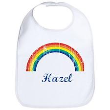 Hazel vintage rainbow Bib