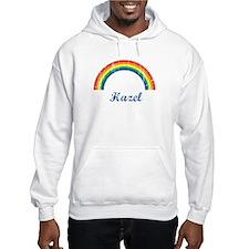 Hazel vintage rainbow Hoodie Sweatshirt