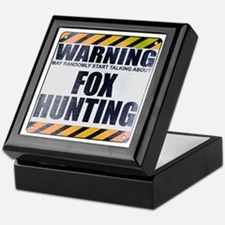 Warning: Fox Hunting Keepsake Box