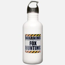Warning: Fox Hunting Water Bottle