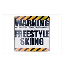 Warning: Freestyle Skiing Postcards (Package of 8)
