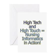 High Tech Greeting Card