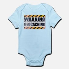 Warning: Geocaching Infant Bodysuit