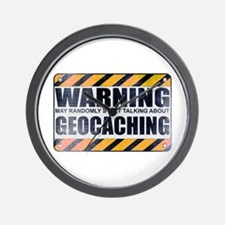 Warning: Geocaching Wall Clock