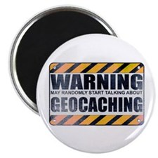 Warning: Geocaching Magnet