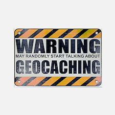 Warning: Geocaching Rectangle Magnet