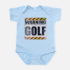 Warning: Golf Infant Bodysuit