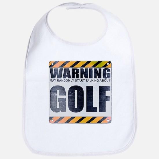 Warning: Golf Bib