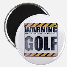 Warning: Golf Magnet