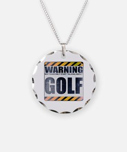 Warning: Golf Necklace