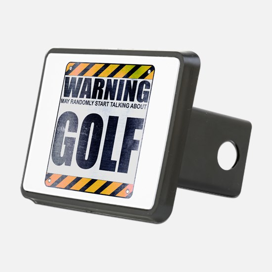 Warning: Golf Hitch Cover
