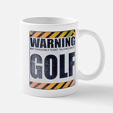Warning: Golf Mug